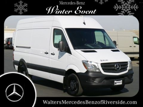 New 2017 Mercedes-Benz Sprinter  High Roof Refrigeration Van with Frozen Package