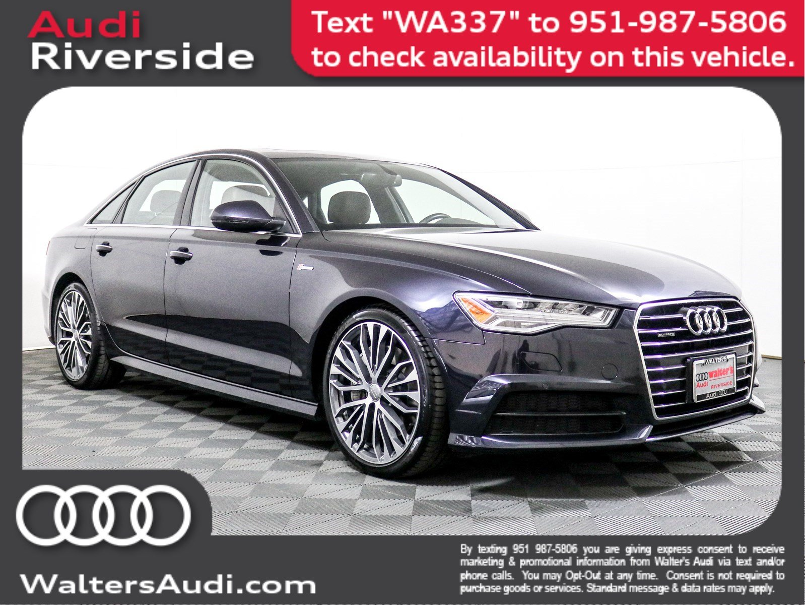 Pre-Owned 2017 Audi A6 Premium Plus
