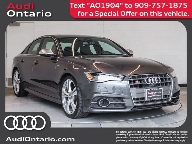 Pre-Owned 2016 Audi S6 Premium Plus