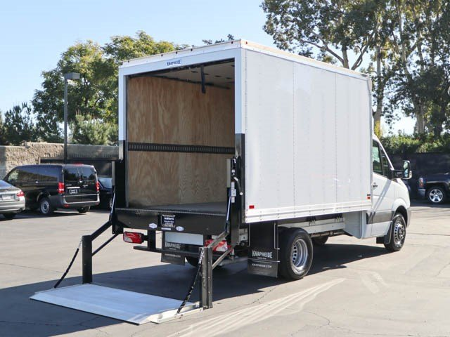 New 2017 Mercedes-Benz Sprinter Chassis Cab w/ Knapheide Box
