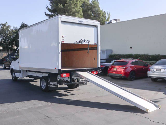New 2019 Mercedes-Benz Sprinter 4500 Cab Chassis w/ Knapheide Dry Freight Box