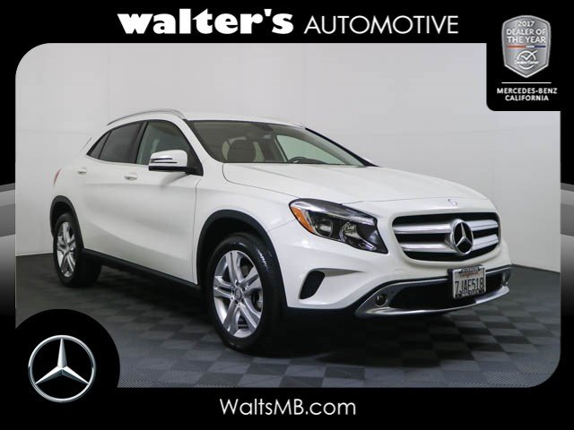 Certified pre owned 2015 mercedes benz gla 250 4matic suv for Walters mercedes benz riverside