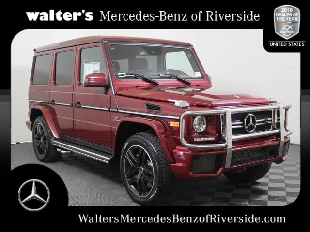 New 2018 Mercedes Benz G Class Amg G 63 Suv Suv In Riverside