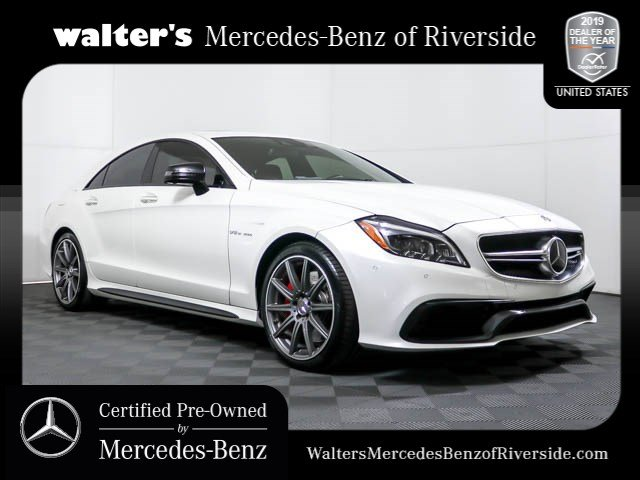 Certified Pre Owned 2017 Mercedes Benz Cls Amg 63s Coupe