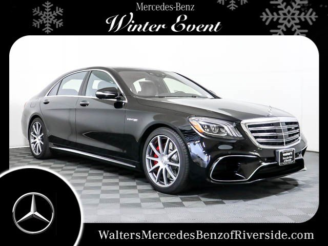 New 2018 Mercedes-Benz S-Class AMG® S 63 Long Wheelbase 4MATIC®