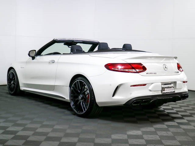 New 2018 Mercedes Benz C Class AMG C 63 S Cabriolet Convertible in