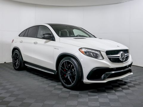 Certified Pre-Owned 2018 Mercedes-Benz GLE AMG® GLE 63 S Coupe