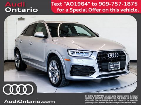Pre-Owned 2018 Audi Q3 Premium Plus
