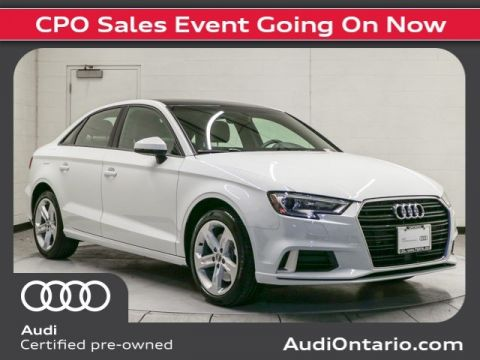 Pre-Owned 2018 Audi A3 Sedan Premium