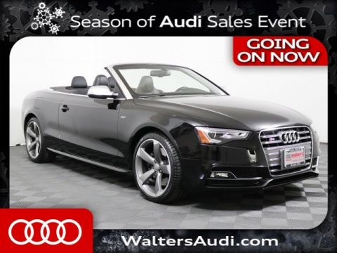 Pre-Owned 2016 Audi S5 Cabriolet Premium Plus