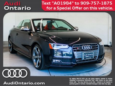 Pre-Owned 2015 Audi S5 Cabriolet Premium Plus