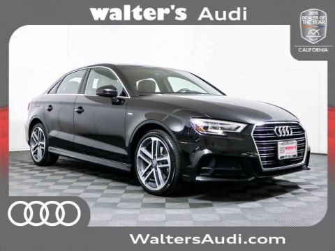 Pre-Owned 2018 Audi A3 Sedan Premium Plus