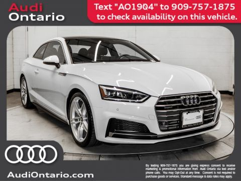 Pre-Owned 2019 Audi A5 Coupe Premium Plus