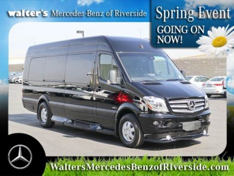 New 2018 Mercedes-Benz Sprinter Midwest Luxury Passenger Van