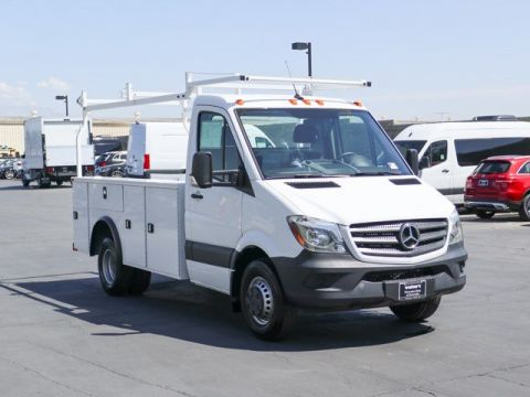 New 2017 Mercedes-Benz Sprinter Chassis Cab w/ KUV Utility Body