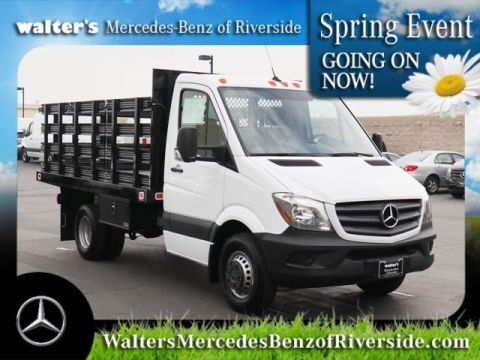 New 2017 Mercedes-Benz Sprinter Chassis Cab w/ Knapheide Steakbed