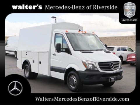 New 2017 Mercedes-Benz Sprinter Chassis Cab w/ Knapheide KUV Body
