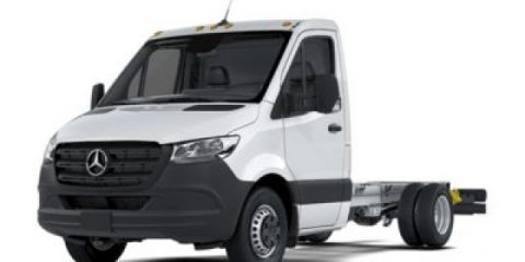 New 2019 Mercedes-Benz Sprinter 4500 Cab Chassis w/ Knapheide KUV Body