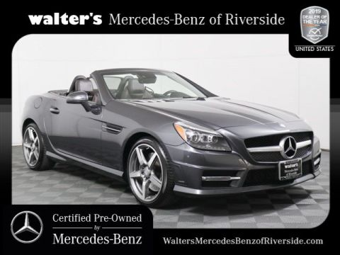 Certified Pre-Owned 2015 Mercedes-Benz SLK SLK 250 Sport