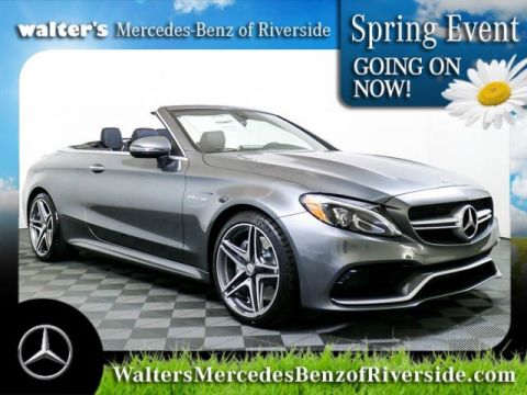 Pre-Owned 2018 Mercedes-Benz C-Class AMG® C 63 Cabriolet