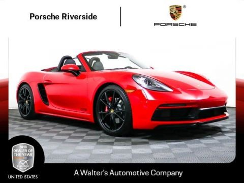 Pre-Owned 2018 Porsche 718 Boxster GTS