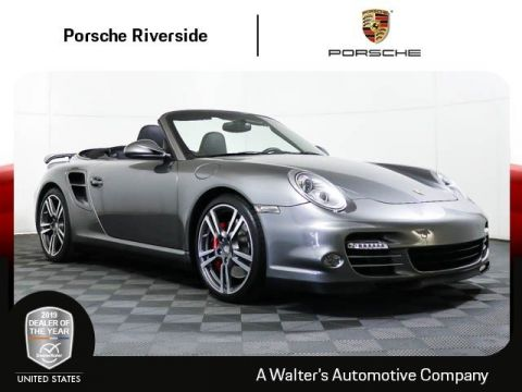 Pre-Owned 2011 Porsche 911 Turbo Cabriolet